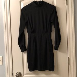 ASOS Black Long Sleeve Dress Size 2